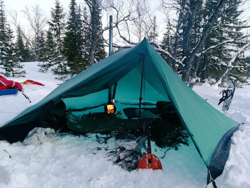 Trekkertent Hot Tent